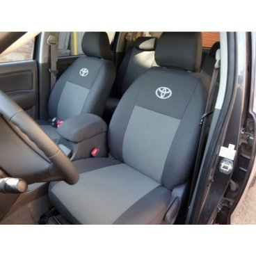 Чехлы на Toyota Hilux EMC Elegant 2005 - 2015 года