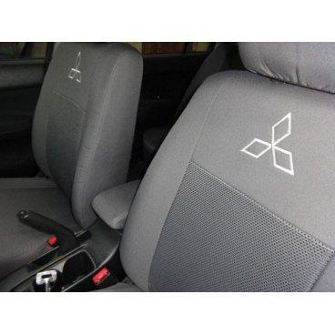 Чехлы на Mitsubishi L200 EMC Elegant
