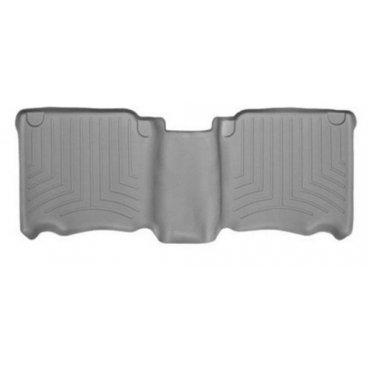 Коврики резиновые для Toyota Hilux WeatherTech с бортиком серые задние