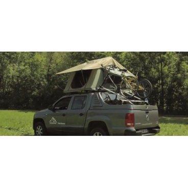 Палатка на крышу для Nissan Navara D40 DC