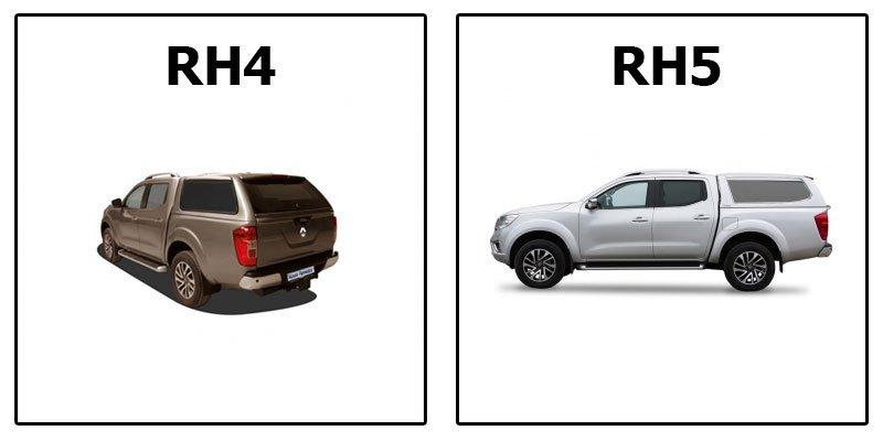 кунг RH4 и RH5 Special на Renault Alaskan