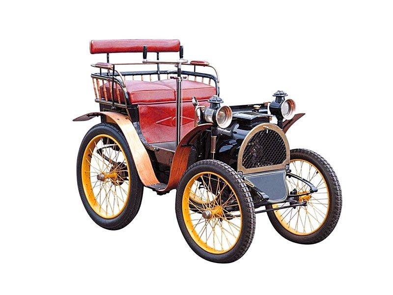 История создания первого автомобиля от Renault